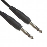 Accu Cable Jack 6,3 Stereo 10m