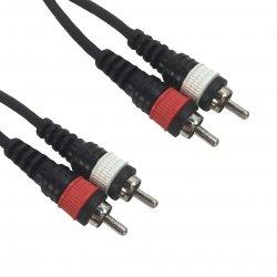 Accu Cable RCA-RCA 0,5m