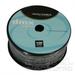 Accu Cable DMX-110 OHM -100m-3žil.