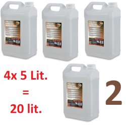 ADJ Fog Juices 2 - Medium  4x5 Lit. PACK