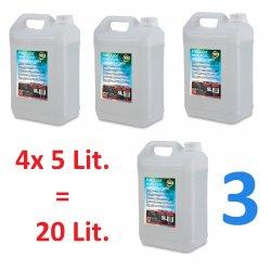 ADJ Fog Juices 3 - Heavy 4x5 Lit. PACK