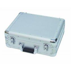 CD booking case ALU (silver)