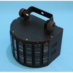 Danel LED Mini Derby RGBW Black