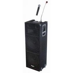 Ibiza Sound StandUp 212 MP3-FM-VHF-Bluetooth