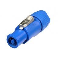 Neutrik NAC-3FCA PowerCon® modrý