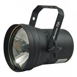 PAR-36 Pinspot čierny SET