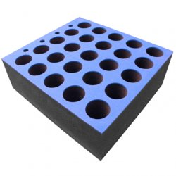 Penn Elcom 6586M/2 Mic Case Foam Inlay