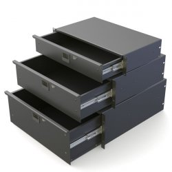 "Penn Elcom R1295k Rack Drawer 19"" / 5U"