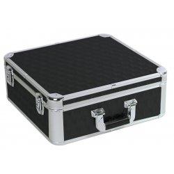 CD case - kufor čierny pre 100 CD